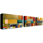 "Trademark Fine Art 18"" x 32"" Wooden Frame , UV Coated Gallery Wrapped Canvas Art"