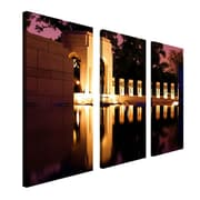 Trademark Fine Art 10 x 24 Wood Canvas Wall Art