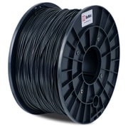 Flashforge™ BuMat™ 1.75 mm 2.2lbs. ABS Filament With Spool For FFF 3D Printer, Black