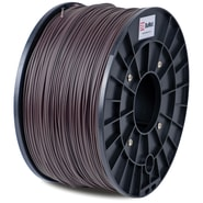 Flashforge™ BuMat™ 1.75 mm 2.2lbs. ABS Filament With Spool For FFF 3D Printer, Brown