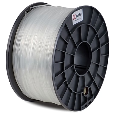 Flashforge™ BuMat™ 1.75 mm 2.2lbs. ABS Filament With Spool For FFF 3D Printer, Clear