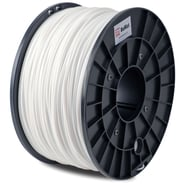 FLASHFORGE™ BuMat™ 1.75 mm 2.2lbs. ABS Filament With Spool For FFF 3D Printer, White