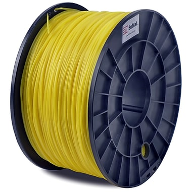 Flashforge™ BuMat™ 1.75 mm 2.2lbs. ABS Filament With Spool For FFF 3D Printer, Yellow