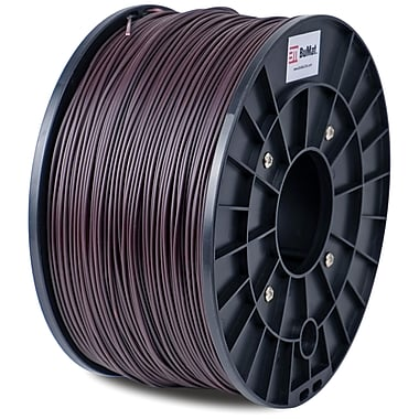 Flashforge™ BuMat™ 1.75 mm 2.2lbs. PLA Filament With Spool For FFF 3D Printer, Brown