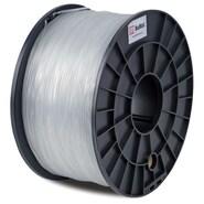 FLASHFORGE™ BuMat™ 1.75 mm 2.2lbs. PLA Filament With Spool For FFF 3D Printer, Clear