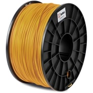 Flashforge™ BuMat™ 1.75 mm 2.2lbs. PLA Filament With Spool For FFF 3D Printer, Gold