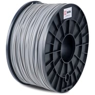 FLASHFORGE™ BuMat™ 1.75 mm 2.2lbs. PLA Filament With Spool For FFF 3D Printer, Gray