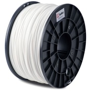 FLASHFORGE™ BuMat™ 1.75 mm 2.2lbs. PLA Filament With Spool For FFF 3D Printer, White