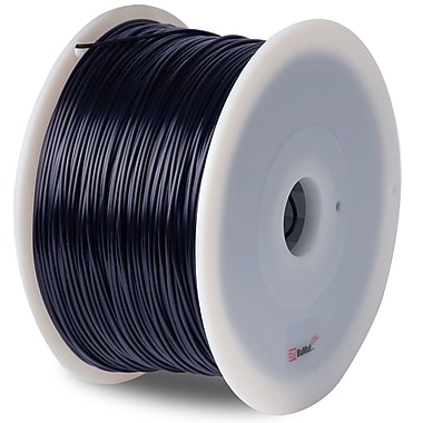 Flashforge™ BuMat™ Elite 1.75 mm 2.2lbs. ABS Filament With Spool For FFF 3D Printer, Black