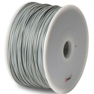 Flashforge™ BuMat™ Elite 1.75 mm 2.2lbs. ABS Filament With Spool For FFF 3D Printer, Gray