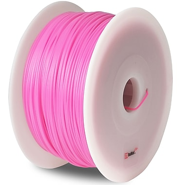 Flashforge™ BuMat™ Elite 1.75 mm 2.2lbs. ABS Filament With Spool For FFF 3D Printer, Pink