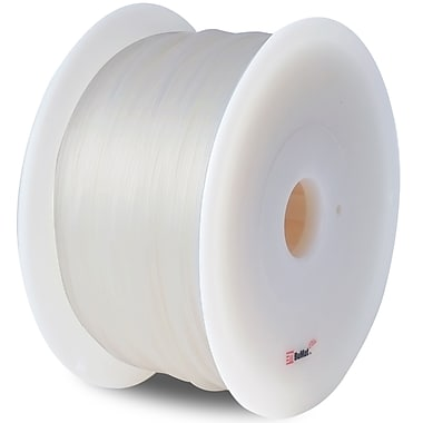 Flashforge™ BuMat™ Elite 1.75 mm 2.2lbs. PLA Filament With Spool For FFF 3D Printer, Clear
