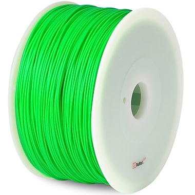 Flashforge™ BuMat™ Elite 1.75 mm 2.2lbs. PLA Filament With Spool For FFF 3D Printer, Green