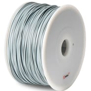 Flashforge™ BuMat™ Elite 1.75 mm 2.2lbs. PLA Filament With Spool For FFF 3D Printer, Gray