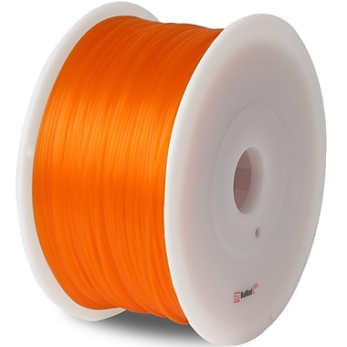 Flashforge™ BuMat™ Elite 1.75 mm 2.2lbs. PLA Filament With Spool For FFF 3D Printer, Orange