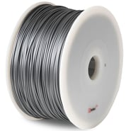 Flashforge™ BuMat™ Elite 1.75 mm 2.2lbs. PLA Filament With Spool For FFF 3D Printer, Silver