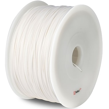 Flashforge™ BuMat™ Elite 1.75 mm 2.2lbs. PLA Filament With Spool For FFF 3D Printer, White