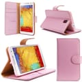 i-Blason Apple iPhone Plus 5.5in. Case - Slim Leather Book Wallet Cover - Pink