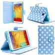 "i-Blason Apple iPhone 6 Plus 5.5"" Case - Slim Leather Book Wallet Cover - Dal Blue"