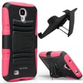 i-Blason Prime Dual Layer Holster Case With Kickstand For Samsung Galaxy S4, Pink