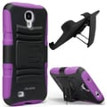 i-Blason Prime Dual Layer Holster Case With Kickstand For Samsung Galaxy S4, Purple