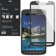 i-Blason HD Matte Bubble Free Screen Protector For Samsung Galaxy S4 Active, Black