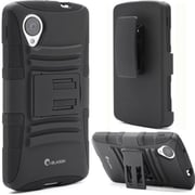 i-Blason Prime Series Dual Layer Holster Case With Belt Clip For Google Nexus 5, Black