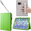 i-Blason 1Fold Slim Book Case With Bonus Stylus For iPad Air, Green