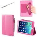 i-Blason 1Fold Slim Book Case With Bonus Stylus For iPad Air, Pink
