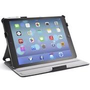 i-Blason Slim Book Shell Stand Folio Case With Bonus Stylus For iPad Air, Black