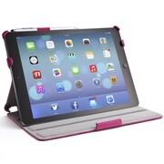 i-Blason Slim Book Shell Stand Folio Case With Bonus Stylus For iPad Air, Magenta