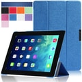 i-Blason i-Folio Smart Cover Slim Hard Shell Stand Case For iPad Air, Blue