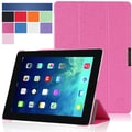 i-Blason i-Folio Smart Cover Slim Hard Shell Stand Case For iPad Air, Magenta