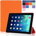i-Blason i-Folio Smart Cover Slim Hard Shell Stand Case For iPad Air, Orange
