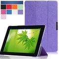 i-Blason i-Folio Smart Cover Slim Hard Shell Stand Case For iPad Air, Purple