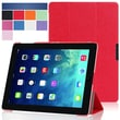 i-Blason i-Folio Smart Cover Slim Hard Shell Stand Case For iPad Air, Red