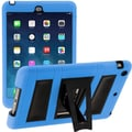 i-Blason Armorbox ABH 2 Layer Kickstand Case With Screen Protector For iPad Air, Blue/Black