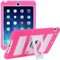 i-Blason Armorbox ABH 2 Layer Kickstand Case With Screen Protector For iPad Air, Pink/White