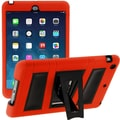 i-Blason Armorbox ABH 2 Layer Kickstand Case With Screen Protector For iPad Air, Red/Black