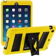 i-Blason Armorbox ABH 2 Layer Kickstand Case With Screen Protector For iPad Air, Yellow/Black