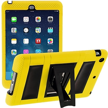 i-Blason IPAD5-ABH-YELLO Silicone Case for Apple iPad Air, Yellow/Black