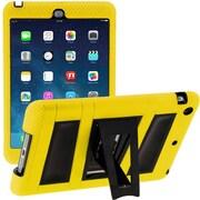 i-Blason IPAD5-ABH-YELLO Silicone Case for Apple iPad Air, Yellow/Black
