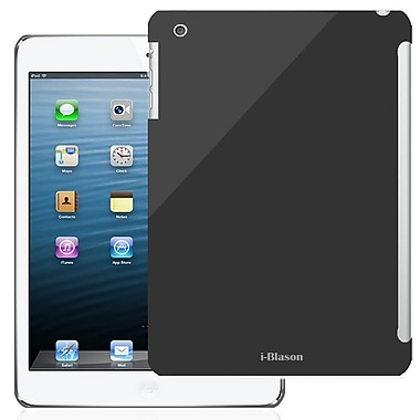 i-Blason MINI2-SC-BLACK Plastic Smart Cover Hard Snap on Slim Fit Case for Apple iPad Mini with Retina Display, Black