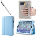 i-Blason 1Fold Slim Book Case With Bonus Stylus For iPad Mini With Retina Display, Blue