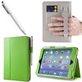 i-Blason 1Fold Slim Book Case With Bonus Stylus For iPad Mini With Retina Display, Green