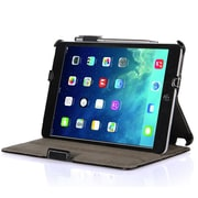 i-Blason MINI2-H-BLACK Faux Leather Folio Case for Apple iPad Mini, Black