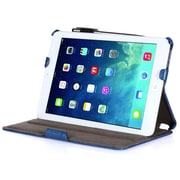 i-Blason MINI2-H-BLUE Faux Leather Folio Case for Apple iPad Mini, Blue