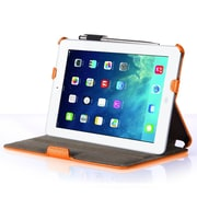i-Blason MINI2-H-ORANGE Faux Leather Folio Case for Apple iPad Mini, Orange