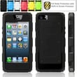 i-Blason Armorbox Dual Layer Hybrid Protective Case For iPhone 5C, Black