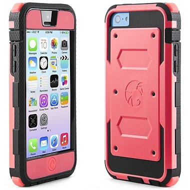 i-Blason Armorbox Dual Layer Hybrid Protective Case For iPhone 5C, Red